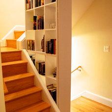 Modern Staircase by William L.  Feeney Architect LLC