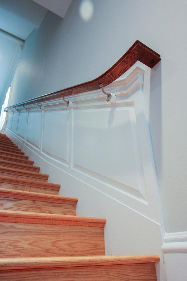 Old-World Luxurious Staircase, Arlington VA 22207