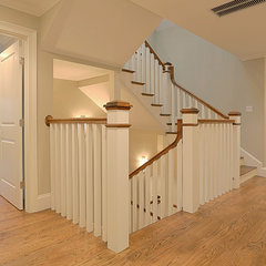 traditional staircase by The Shifman Group