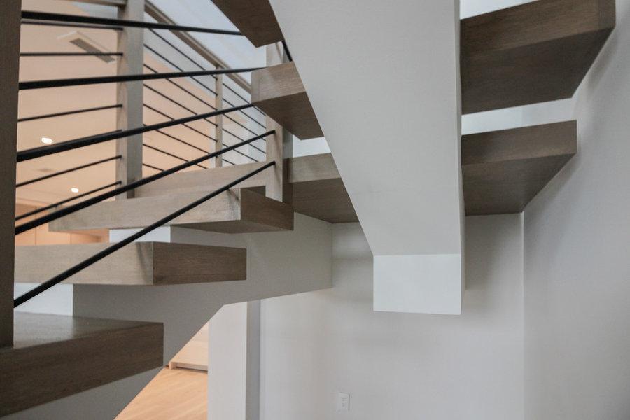 Logan Circle's Sculptural Staircase, Washington DC 20005