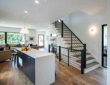 58_Creative Staircase for Timeless Home, Arlington, VA 22201