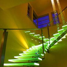 Contemporary Staircase by jeffrey halferty design