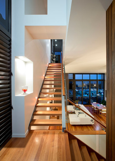 Contemporary Staircase by Jamison Architects