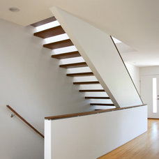 Modern Staircase by Imbue Design