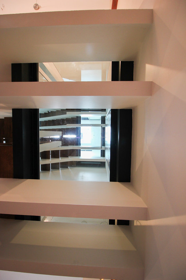 Innovative and Ultra-modern Stairs with Glass Landings, Washington DC 20009