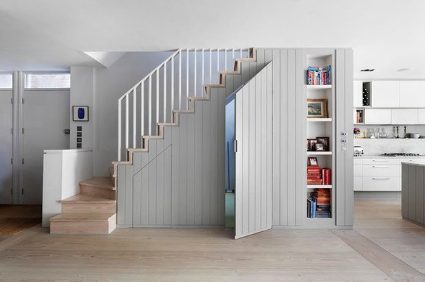 clever ideas for understairs storage. Black Bedroom Furniture Sets. Home Design Ideas