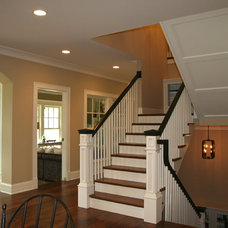 Traditional Staircase by Cory Smith Architecture