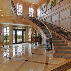 Mediterranean Staircase by Claremont Companies