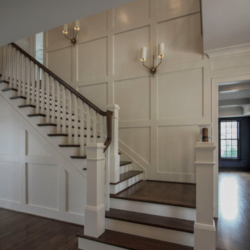 77_Elegance meets function in Urban Staircase, Arlington VA 22207