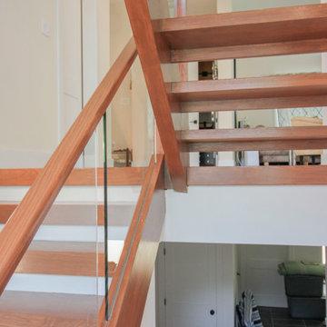 78_Modern Open-Riser Staircase, Vienna VA 22180