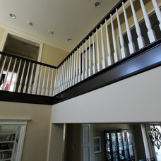 Beach Style Staircase by APlus Interior Design & Remodeling