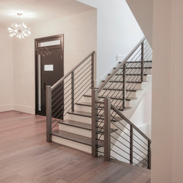 79_Horizontal Balustrade in High-end Interior Architecture, Great Falls VA 22066