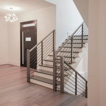 79_Horizontal Balustrade in High-end Interior Architecture, Great Falls VA 22066