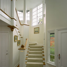Traditional Staircase by Andreozzi Architects