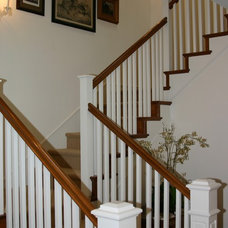 Farmhouse Staircase by Structure Home