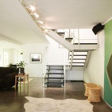 Contemporary Staircase by emily jagoda