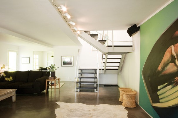 Contemporary Staircase by emily jagoda