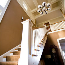 Contemporary Staircase by Spivey Architects, Inc.