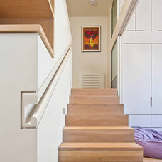 Modern Staircase 94th Street Townhouse