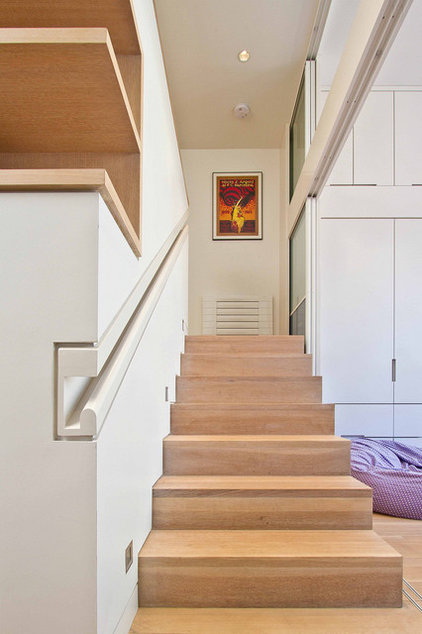 Modern Staircase by Sohbr Studio Architecture & Design