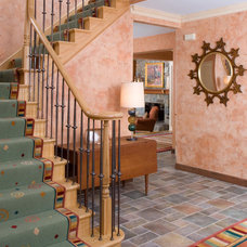 Eclectic Staircase by Designing Solutions