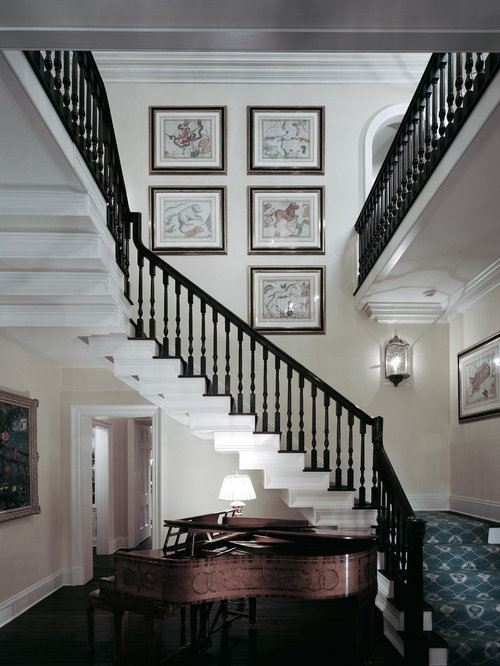 Example Of A Classic Wooden Staircase Design In Sydney