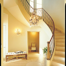 Traditional Staircase by The Images Publishing Group