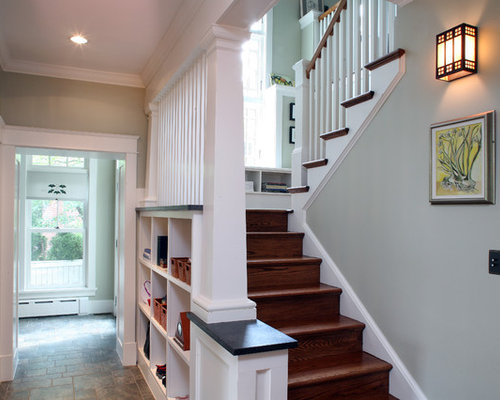 Best Craftsman Staircase Design Ideas & Remodel Pictures | Houzz