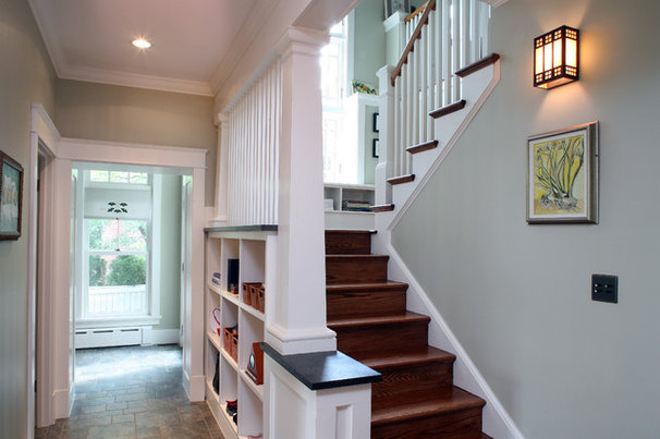 Craftsman Staircase by Brennan + Company Architects