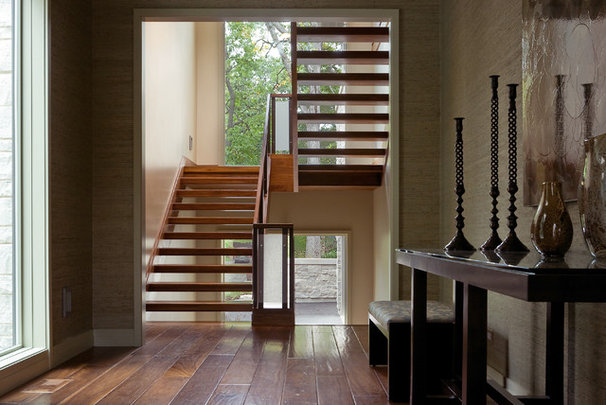 Contemporary Staircase by Fraerman Associates Architecture