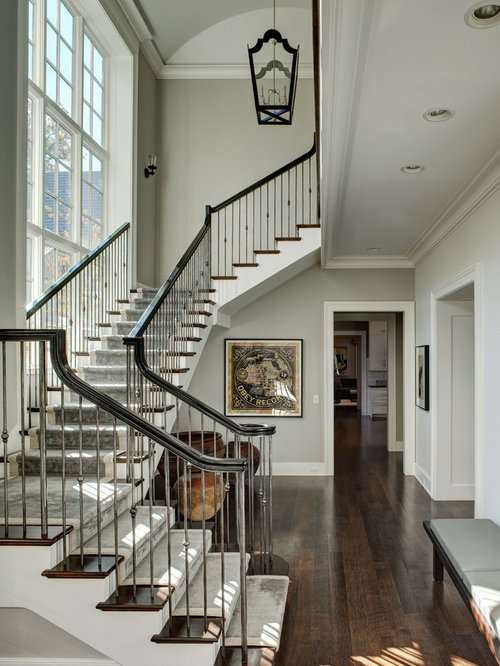 Inspiration For A Timeless Wooden Staircase Remodel In Chicago