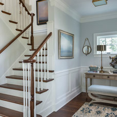 Beach Style Staircase by Taste Design Inc