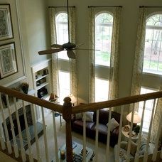 Traditional Staircase by Niblock Homes