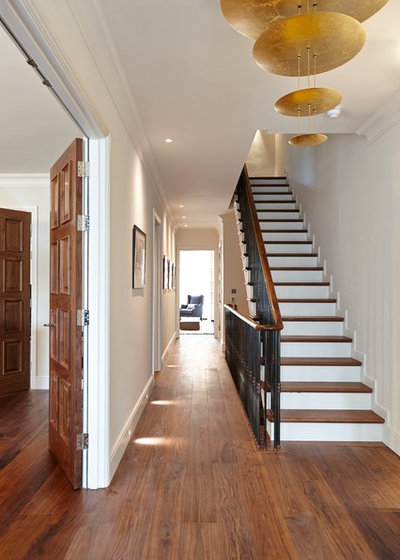 Contemporary Staircase by Adam Coupe Photography Limited