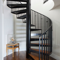 Tropical Staircase by Barker Kappelle Construction, LLC