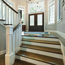 Traditional Staircase by Divine Design+Build