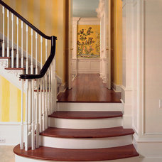 Traditional Staircase by J.Banks Design Group