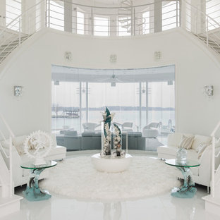 Example of a minimalist staircase design in Houston