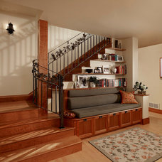 Traditional Staircase by Meadowlark Builders