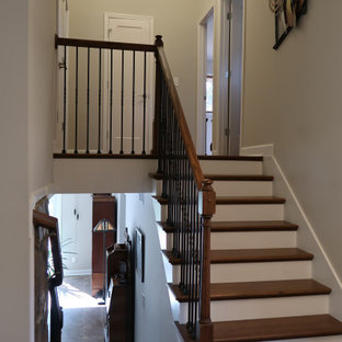 Split Level Traditional Staircase