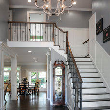 Traditional Staircase by Dave Fox Design Build Remodelers