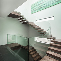 modern staircase by AR Design Studio Ltd