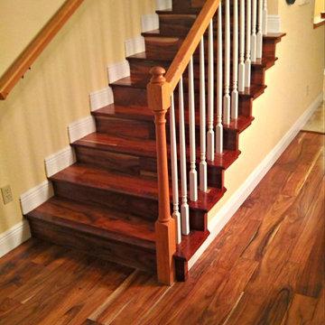 Acacia wood floors