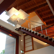 Contemporary Staircase by Studio 1030 Architects