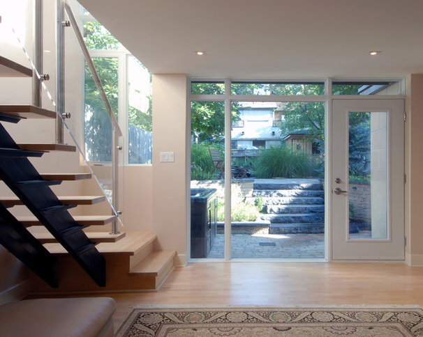 Contemporary Staircase by Southam Design Inc
