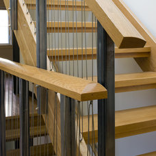 Contemporary Staircase by LDa Architecture & Interiors