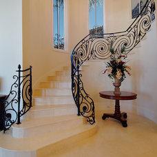 Mediterranean Staircase by PB Built