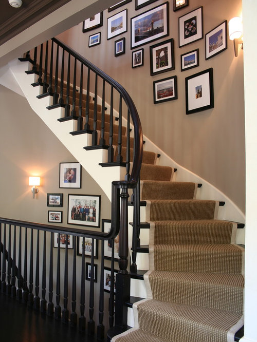 Inspiration For A Transitional Staircase Remodel In Chicago