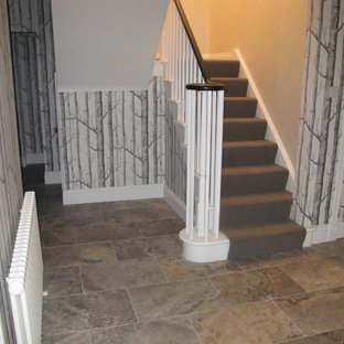 Example of a classic staircase design in Hampshire