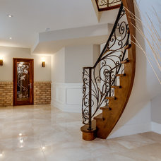 Transitional Staircase by Dizeh Group